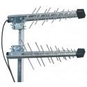 GSM/UMTS/3G/4G/WLAN/LTE-suuntant 2 x P-32+kiinn 45° 10m SMAu MIMO