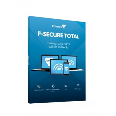F-SECURE TOTAL (1 YEAR 5 DEVICES), E-KE
