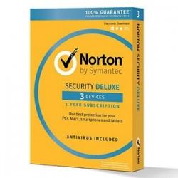 NORTON SECURITY Deluxe 3.0 SF, 1 käyttäjä, 3 laitetta, 12kk
