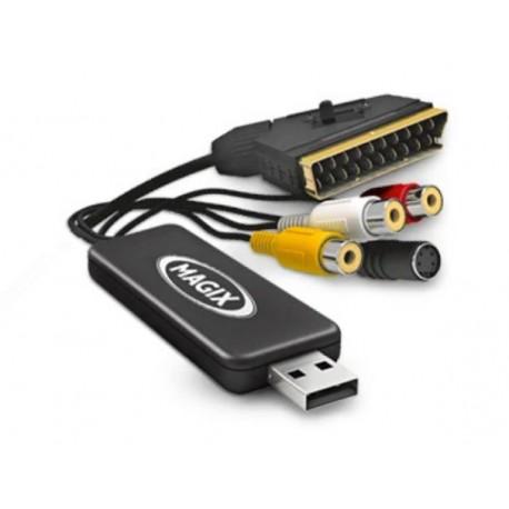 Magix Video Saver 8 - videokaappari USB-liitäntään