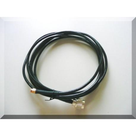 2.5m matalahäviöinen kaapeli Nm-SMAm