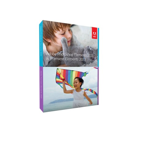 Adobe Photoshop Elements 2020 - Win/Mac -kuvankäsittelyohjelma, DVD